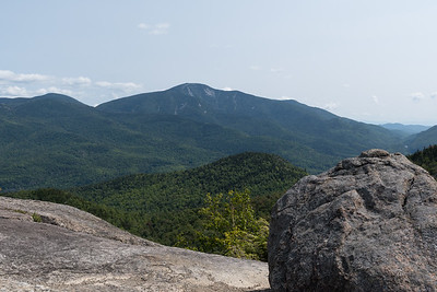 View of Giant Mountain from the Rooster Comb in the Adirondacks.