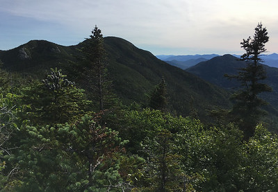 Seward Mountain (L) and Seymour Mountain (C), from Mount Donaldson.