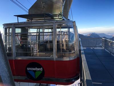 The tram at Snowbird.