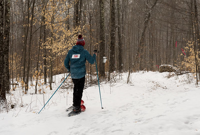 Vershare snowshoe-a-thon, 2017.