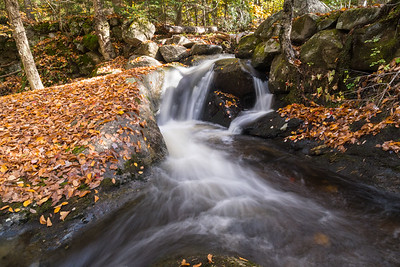 Cascades on Grant Brook, Lyme NH.