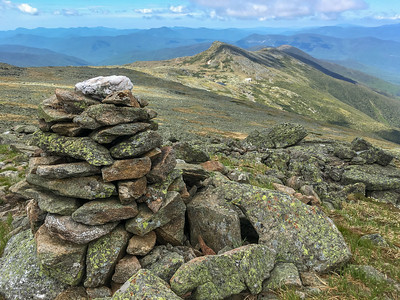 Southern Presies, with Lakes of the Clouds in the middleground, as seen from the slopes of Mount Washington.
