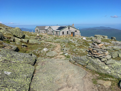 Lakes of the Clouds hut.