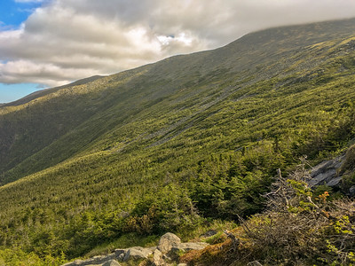 Mount Washington as seen from Ammonoosuc Trail.