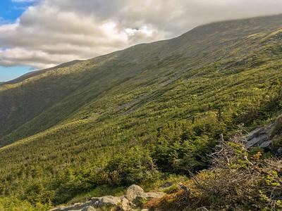 Mount Washington as seen from Ammonoosuc Trail.