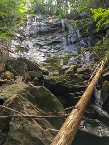 Orbeton Falls, on a tributary of Orbeton Stream, near the A.T. in Maine.