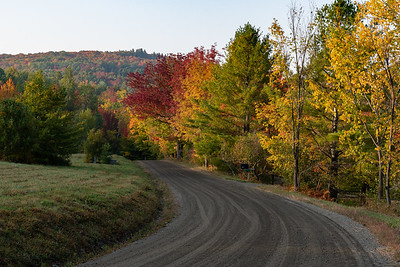 Fall foliage in Lyme, NH.