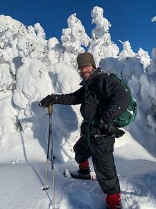 Ken on the summit of Pico Peak.