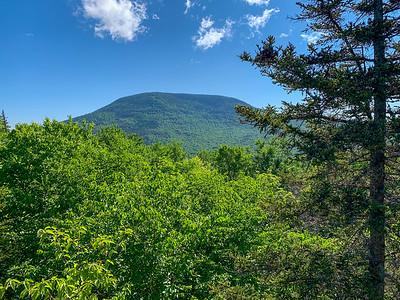 View of Smarts Mountain from Lambert Ridge.