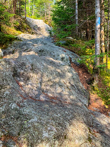 The upper sections of Worcester Mountain are quite steep.