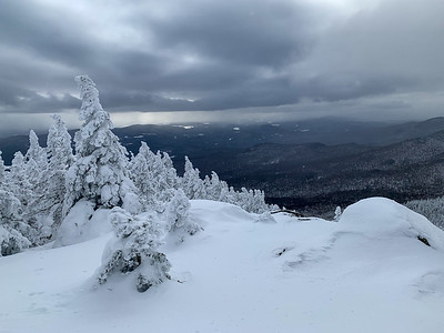 View from the summit of Worcester Mountain.