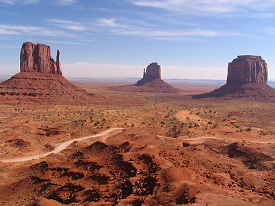 The Mittens, Monument Valley, AZ.
