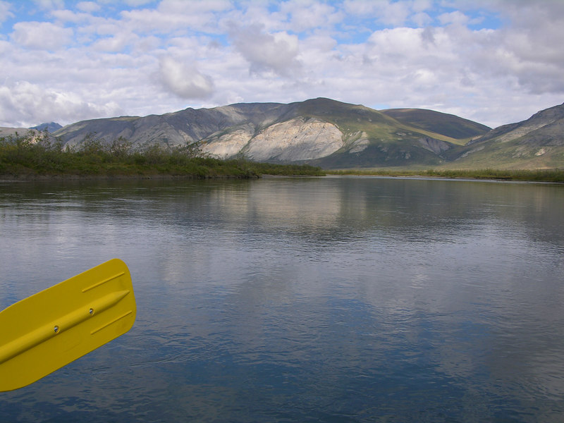 Paddling the Noatak on the following day (Day 6: August 17).  There will be MANY river pictures to follow…