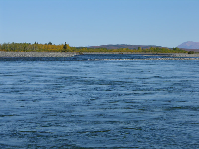 """The confluence with the """"Kug"""" River."""