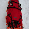 "Cooke Custom Sewing Sled bag.   Inspired by a famous Czech explorer, it is now available to the masses from Dan Cooke.  Besides, Dan stitches are lot straighter, his craftsmanship impeccable and cost reasonable.  Made of 1000 denier Cordura with heavy duty zippers and buckles it will last you a long time if not life time.  Available from <a href=""http://cookecustomsewing.com/"">http://cookecustomsewing.com/</a>.  The pulk is by someone else in St. Cloud."