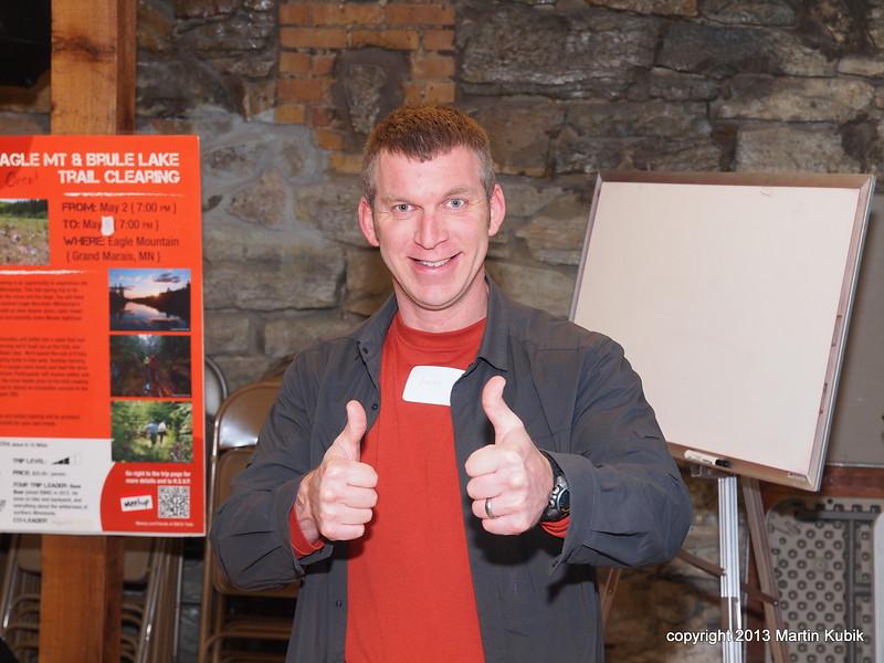 """Jason Estrem, event chair:  """"All Systems GO!"""""""