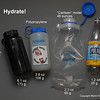 "The good, bad and ugly.  Lexan type bottles weigh a lot!  I opt for polypropylene, which is a reasonable compromise between weight and reliability.  ""Cantene"" model is 48 oz (great) but prone to leaking - usually around the neck seam.  If you want to combine reliability and light weight while minimizing the risk, take on PP bottle and either cantene or seltzer bottle (they have HD cap)."