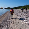 That's right.  Mosquitoes in Pukaskwa National Park are HUGE!   To keep them off your back see the next page.