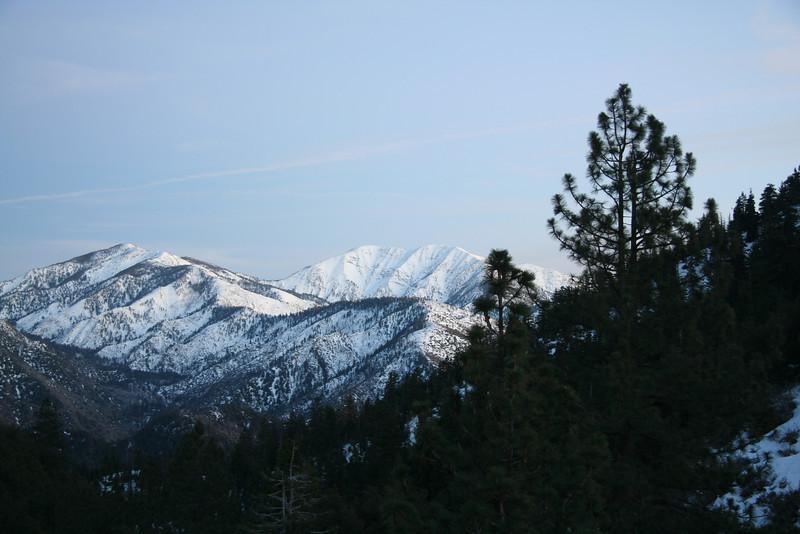 Mt. Baldy at dusk