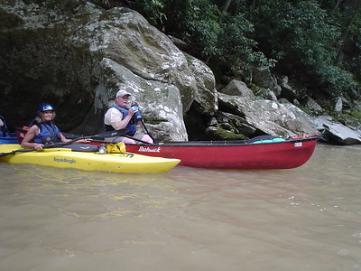 This was the end of the run on Muddy Creek, York County.  We had just survived several class 2/3 rapids.