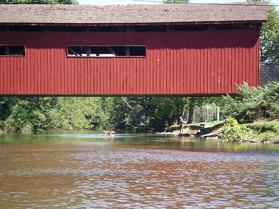 The bridge at Messiah College