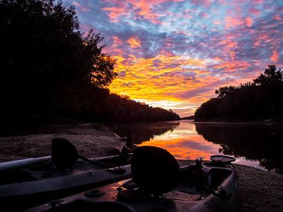 Brazos River Kayak Fishing 10-01-2016