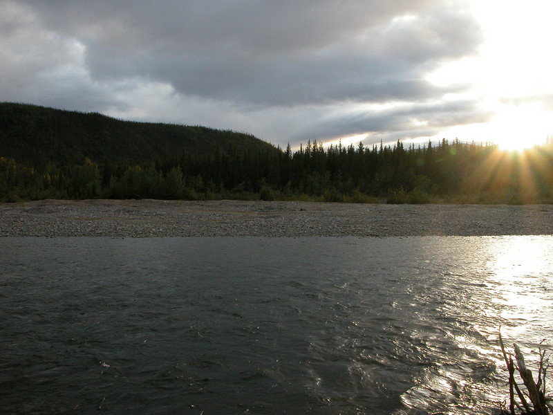 A view across the river from Camp 3&4