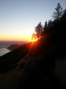 Sunset, Big Sur