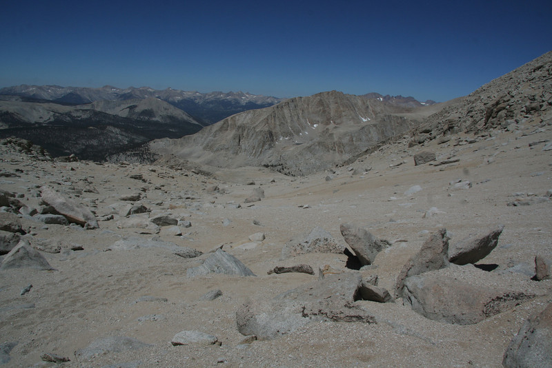 looking down toward the Kern