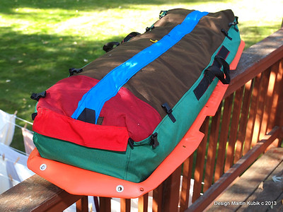 Custom Duffel Bag for Paris Explorer Sled