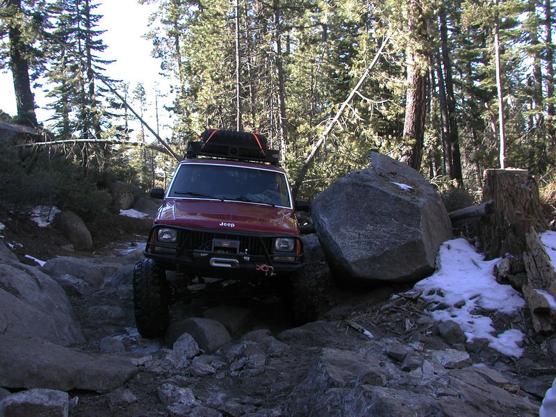 "A small obstical near ""Gate Keeper"".  As the name implies, the first obstacle does an adequate job of keeping ill-equipped rigs off the trial.  Recent trailwork, however, begs for the obstacle to be re-named ""On-ramp."""