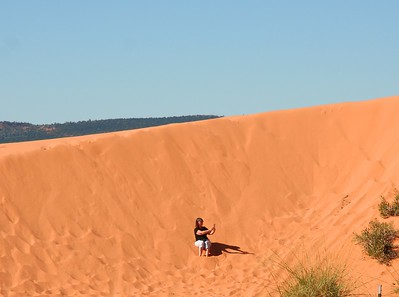 Corral Pink Sand Dunes