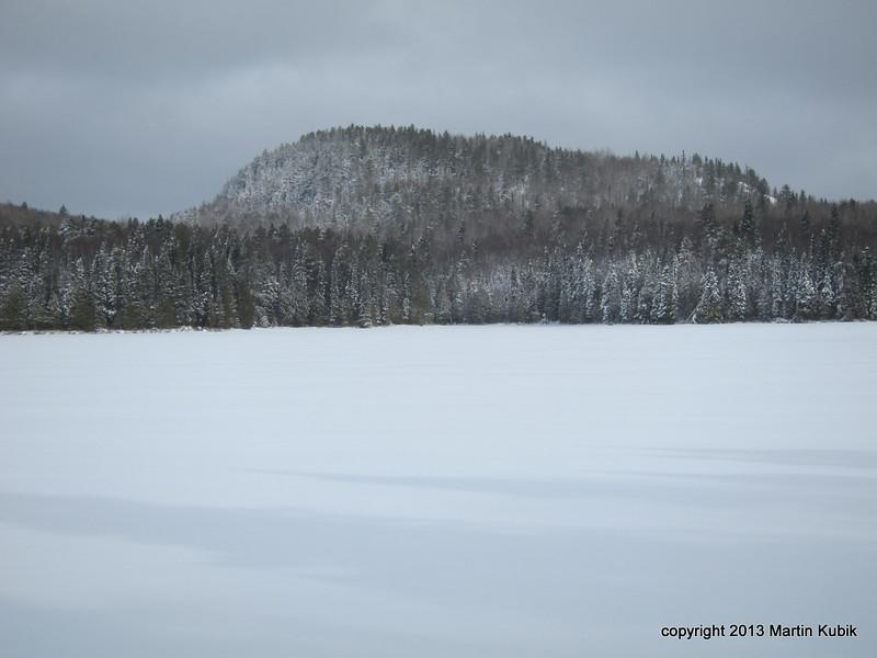 False peak at Whale Lake.