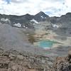Mt Goddard above Davis Basin