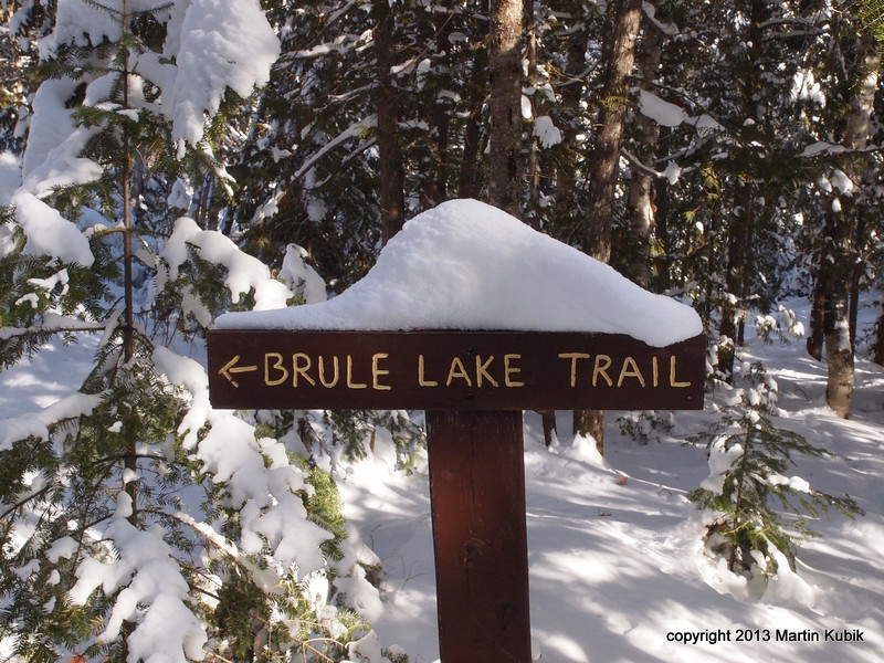Tried Brule Lake Trail but ran out of gas.