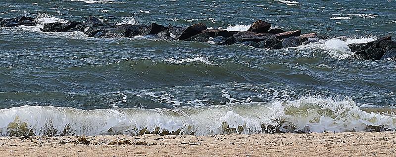 Hammonasset Beach -- Granular Water