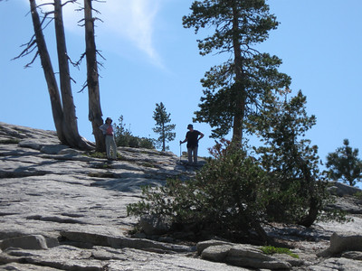 2011/09/17 >> Sentinel Dome with Mom and Dad