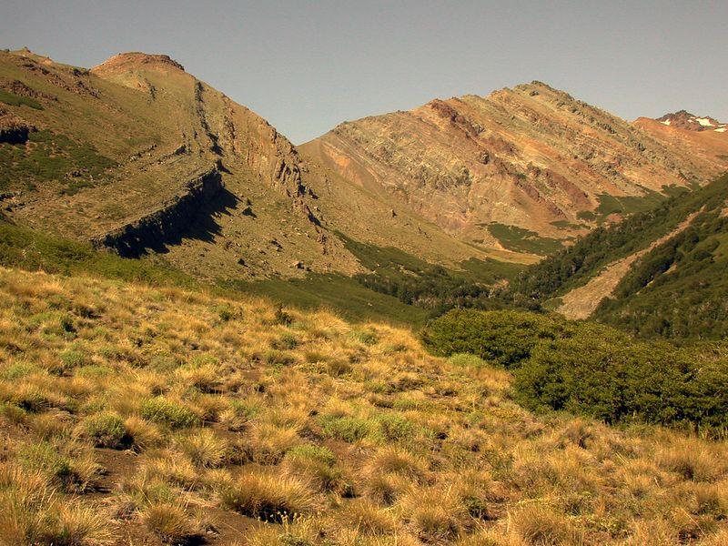 Estero Correntoso valley.
