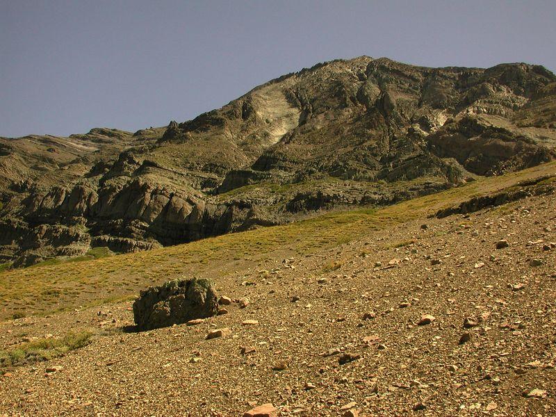 Cerro Los Pinos folds.
