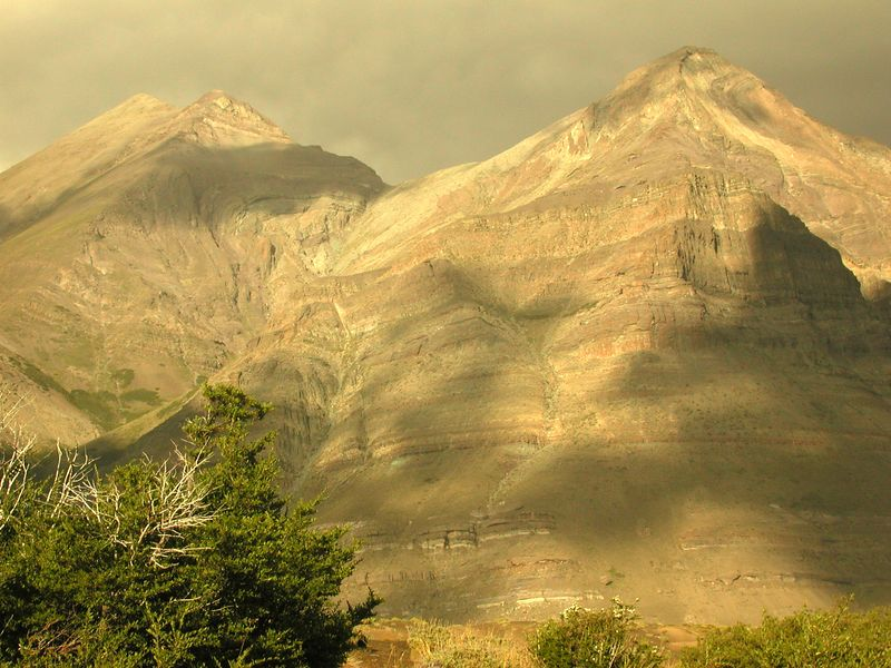 Cerro Los Pinos on a stormy day.