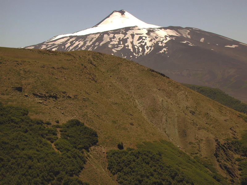 Volcan Antuco.