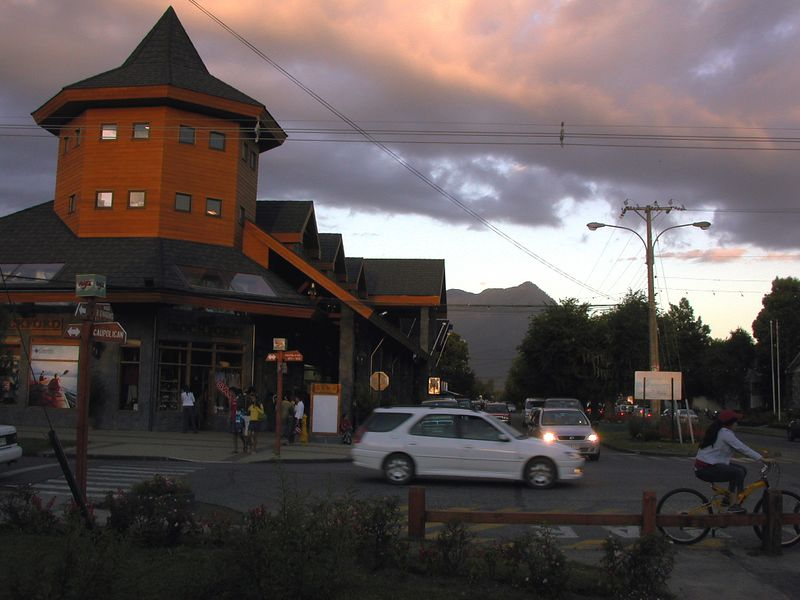 Downtown Pucon.