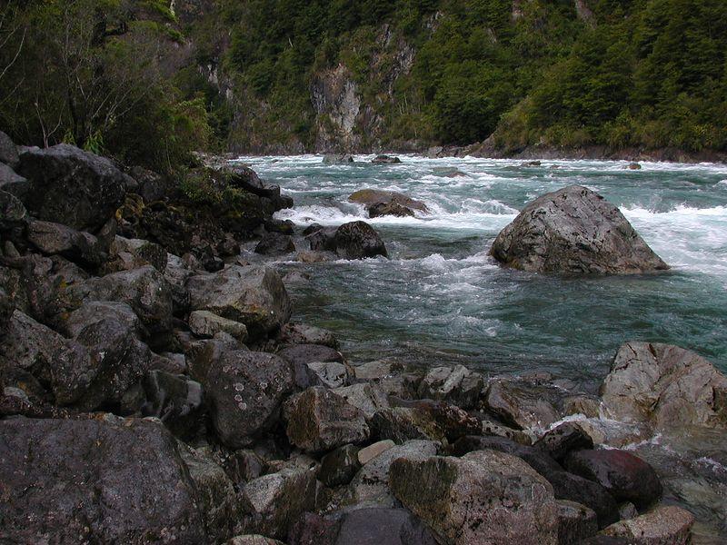 Rio Petrohue.