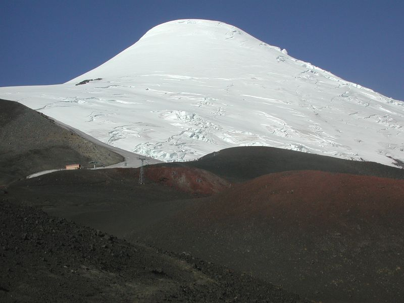 Volcan Osorno.