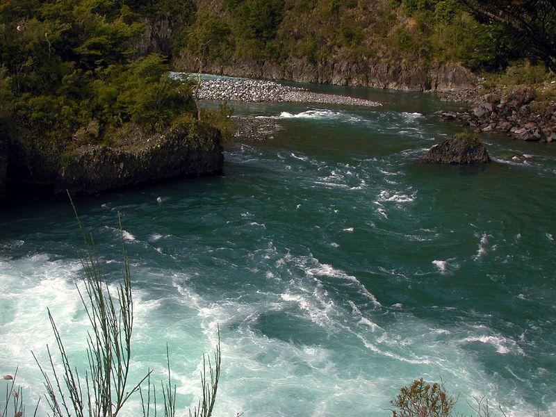 Saltos (waterfalls) del Petrohue.