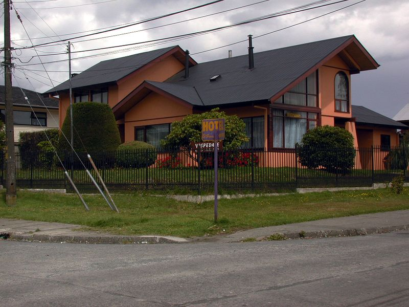 The home I stayed at for four nights while I was in Puerto Varas, Chile.