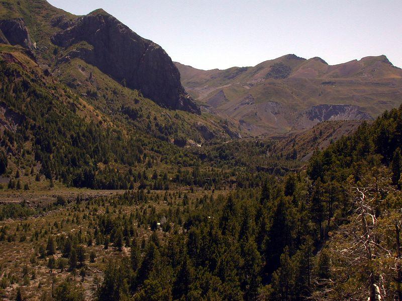 Rio del Laja valley.
