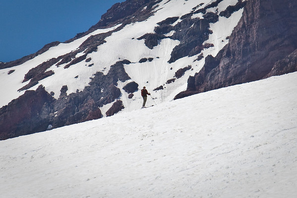 June 2009 skiing on Rainier