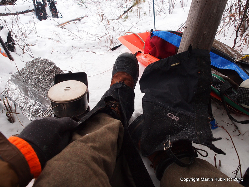 Tutorial 8:  Apply snow gaiters and you are ready to go!