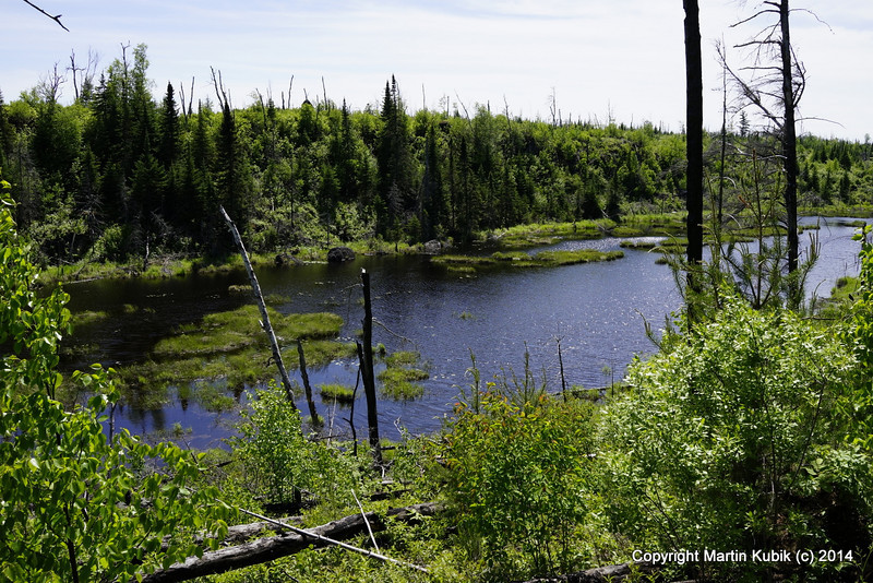 Join us for a weekend trek on the Kek.  Lean back and enjoy the breath taking (if you like brush) scenery like we did.  From the Kek -East Trail head, the south side of Kekekabic is dotted with variety of scenic ponds and lake views.